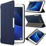 iHarbort Samsung Galaxy Tab A 7.0 Case - Ultra Slim Lightweight shell Holder Stand Leather Case Cover for Samsung Galaxy Tab A 7.0 Inch SM-T280 T285 (Galaxy Tab A 7.0, Dark Blue)