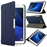 iHarbort Samsung Galaxy Tab A 7.0 Hülle - Ultra Slim Leder Tasche Hülle Etui Schutzhülle Für Samsung Galaxy Tab A 7.0 Zoll T280 T285 Case Cover Holder,(Galaxy Tab A 7.0, Dunkelblau)