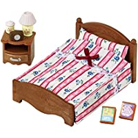 Sylvanian Families 5019 Semi Double Bed - Dolls and Accessories - Sylvanian