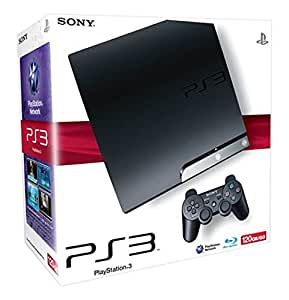 PlayStation 3 - Konsole Slim 250 GB inkl. Dual Shock 3 Wireless Controller + Gran Turismo 5 Prologue und Motorstorm: Pacific Rift