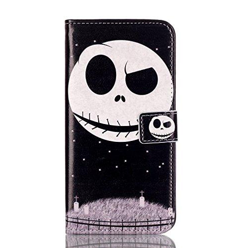 Voguecase® für Apple iPhone SE hülle,(Katzenbär 03) Kunstleder Tasche PU Schutzhülle Tasche Leder Brieftasche Hülle Case Cover + Gratis Universal Eingabestift Geist 01