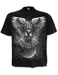 Spiral Men - Wings Of Wisdom - T-Shirt Black