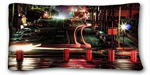 Custom Charakteristik (Tiere Äste Schließen) DIY Kissenbezug Größe 50,8x 91,4cm geeignet für Extralang twin-bed pc-red-20318