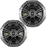 Kicker 40CS654 Pair of 6.5 300 Watt 4 Ohm Coaxial Speakers W/ Grills Consumer Portable Electronics/Gadgets