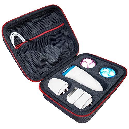 Case Tasche Für Braun Silk-épil 9 SkinSpa Damen Epilierer Schutz-Hülle Etui Reisetasche von KOKAKO