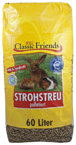Classic Friends Stroh Pellets, 60 Liter