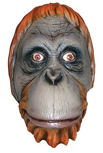 Bristol Novelty bm473Orang-Utan Maske (One (Overhead Kostüme Latex Maske)