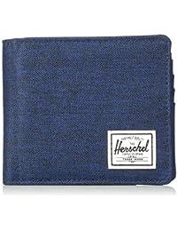 173906afcd Herschel Hans Coin XL RFID Wallet Crosshatch/Medieval Blue