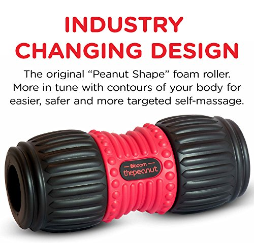 The-Peanut-PRO-FOAM-ROLLER-boom-Better-Shaped-For-Your-Body-ULTIMATE-MUSCLE-MASSAGE-Self-Myofascial-Release-Trigger-Point-Targeting-Perfect-For-Gym-Sports-Before-And-After-Exercise-Back-Relief-Recover