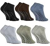 Rainbow Socks - Damen Herren Sneaker Bambus Stoppersocken