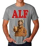 Alf Portrait Tv Series Men's T-Shirt Herren Large