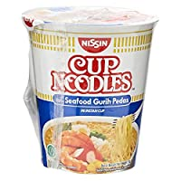 Nissin Cup Noodles Spicy Seafood, 75 gm