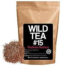 Red Rooibos Loose Leaf Tea, Organic South African Rooibos Herbal Tea, Wild Tea #15 by Wild Foods (2 ounce)