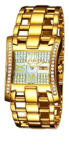 CERRUTI - CT100912X04 - Montre Femme - Quartz - Analogique - Bracelet Acier Inoxydable doré