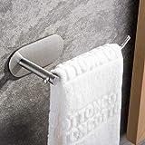 ZUNTO Handtuchring Ohne Bohren Handtuchhalter Edelstahl Handtuchständer Selbstklebend für Badezimmer und Küche