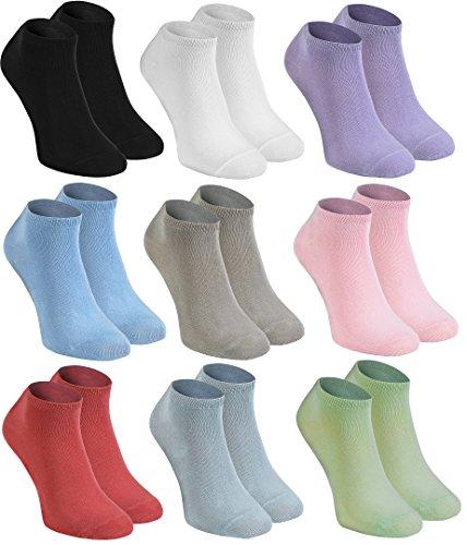 9-paires-de-socquettes-en-bambou-blanc-noir-rose-violet-bleu-pistache-beige-orange-rouge-framboise-e