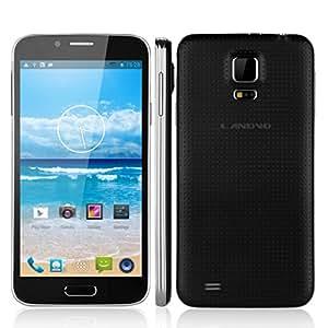 "LANDVO L900 Smartphone 5.0"" noir IPS Grand écran ultra mince Android 4.2 Quad-Core MTK6582 1MB RAM + 4G ROM Double SIM Double Caméra 5.0MP & 2.0MP support GPS, WIFI - Compatible avec Orange/ SFR/ Bouygues/ Free"