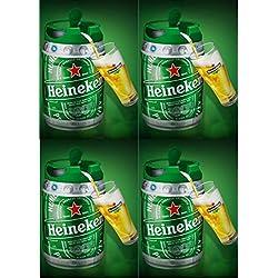 4Barriles Heineken de 5Litros. Con grifo