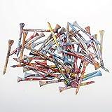 Crestgolf Fantastique 23/10,2cm (70mm) en bois de golf Tee 100pcs/sac...