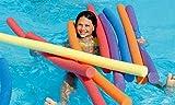 Schwimmnudel Poolnudel 160 cm NMC COMFY® NOODLE | 6 Farben zur Auswahl (gelb)