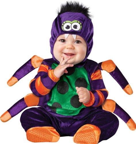Imagen de in character  disfraz para bebé de araña, talla 18 meses  2 años alternativa