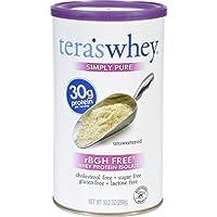 Preisvergleich für Tera's Whey: rBGH & Gluten-Free Simply Pure Non-GMO Grass-Fed Unsweetened Low Carb Whey Protein, 10.2 oz by tera's