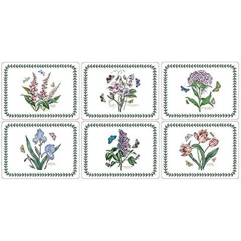 Portmeirion Botanischen Garten - Rect Platzdeckchen - Set Von 6 (Packung mit 2) (Portmeirion Botanischer Garten Öl)
