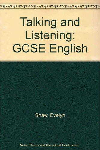 GCSE English talking and listening