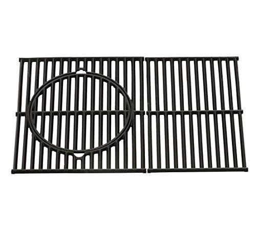 Dehner Grillrost für Lancaster 400, ca. 50 x 44.5 x 5 cm, Gusseisen, schwarz