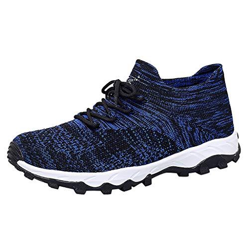 ABsoar Sneakers Herren Mesh Sportschuhe Mode Leichte Laufschuhe Outdoor Turnschuhe Casual Atmungsaktiv Bergsteigen Schuhe Bequeme Joggingschuhe