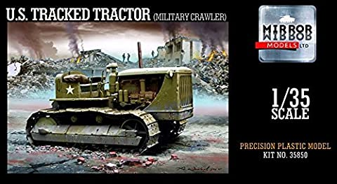MRM35850 1:35 Mirror Models US Tracked Tractor (Military Crawler) [MODEL BUILDING KIT] by Mirror Models
