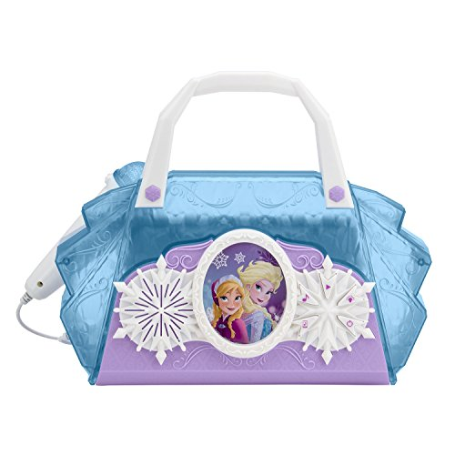 eKids FR-115 Frozen Cool Tunes Light up Boom Box Bag with Microphone