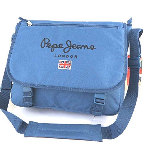 Pepe Jeans [M7908] - Sac bandoulière 'Pepe Jeans' bleu (format ordinateur)