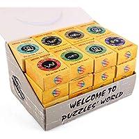 Comparador de precios 15000P 32Pack Rompecabezas Metal Puzzles 3D Juegos de Ingenio Calendario de Adviento para Niños y Adultos - precios baratos