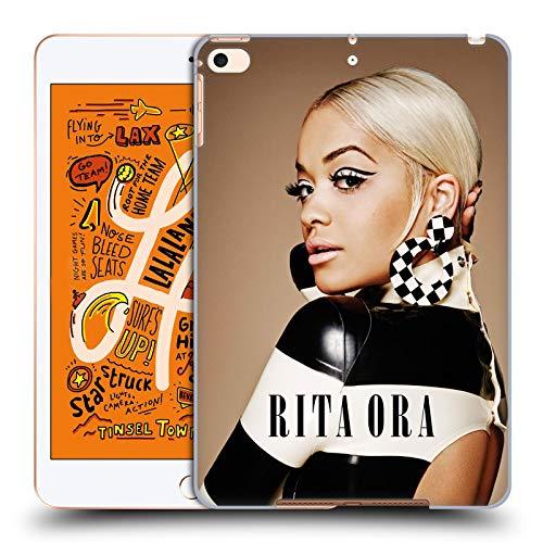 Head Case Designs Offizielle Rita Ora Kalendar Juli Kunst Harte Rueckseiten Huelle kompatibel mit iPad Mini (2019)