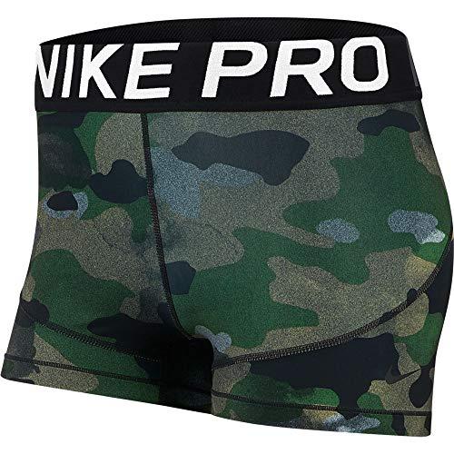 Nike W Np Rebel 3Inch Camo - club gold/black
