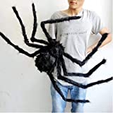 Leisial Spider Halloween Decoration Indoor and Outdoor Decorations Party Prop Hanging Garden Decor