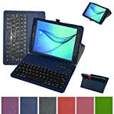 Tab A 8.0 Bluetooth Keyboard Case,Mama Mouth Coustom Design Slim Stand PU Leather Case Cover With Romovable Bluetooth Keyboard For Samsung Galaxy Tab