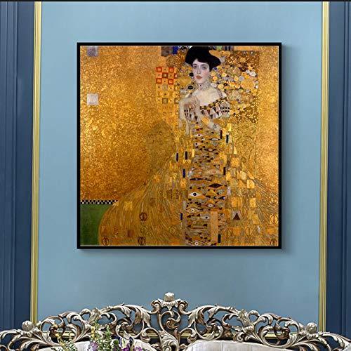 Mmwin Gustav Klimt Pintura clásica clásica Carteles