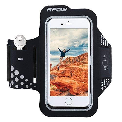 Sportarmband Mpow, Sport armband für iPhone 6/6s,Sport Handy Armband Laufen Joggen verstellbares Handyarmband für iPhone X/8/7/6, Samsung Galaxy S6 /Google Pixel/Pixel XL, usw. bis zu 5.1 Zoll.