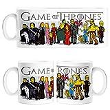 Taza Juego de Tronos personajes Los Simpsons Game of Thrones