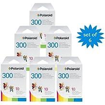 Polaroid - Película para cámara instantanea Polaroid PIF 300 (6 paquetes)