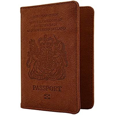 WantGor RFID Blocking PU Leather Passport and Card Holders : everything 5 pounds (or less!)
