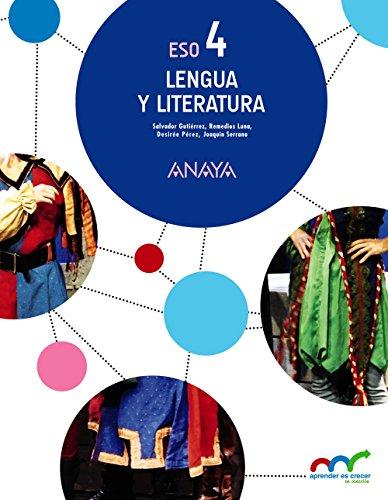 Lengua y Literatura 4 (Aprender es crecer en conexión)