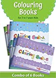 Blossom Colouring Books for 3 to 7 Year Old Kids | Crayon and Pencil Coloring for Nursery, Preschool and Primary Children | Set of 6 Books