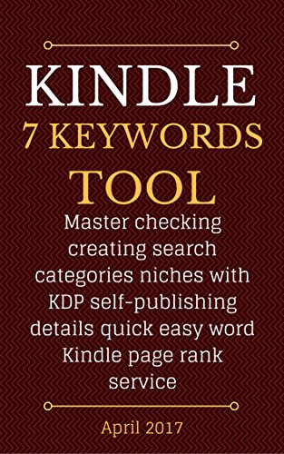 Kindle eBook 7 Keyword Tool: Master checking creating search ...