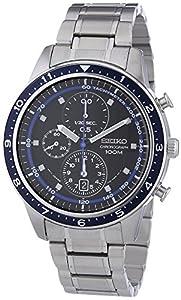 Seiko Reloj SNDF39P1 Negro / Azul de Relojitos Euromediterránea