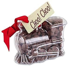 "Train - ""Choo Choo!"" Chocolate Train. From the Belgian Milk Chocolate 'Button-its' range."