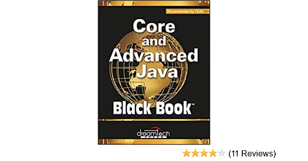 Black Book For Advanced Java