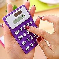 Desconocido Digits - Calculadora de Bolsillo con Pantalla LCD Ligera y Funciona con energía Solar